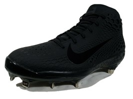 Nike Force Zoom Mike Trout 5 Mid Baseball Cleats Size 9-10.5 Black AH337... - $49.99