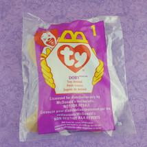 TY Teenie Beanie Baby Doby Dog Toy Animal 1998 McDonalds #1 - $7.92