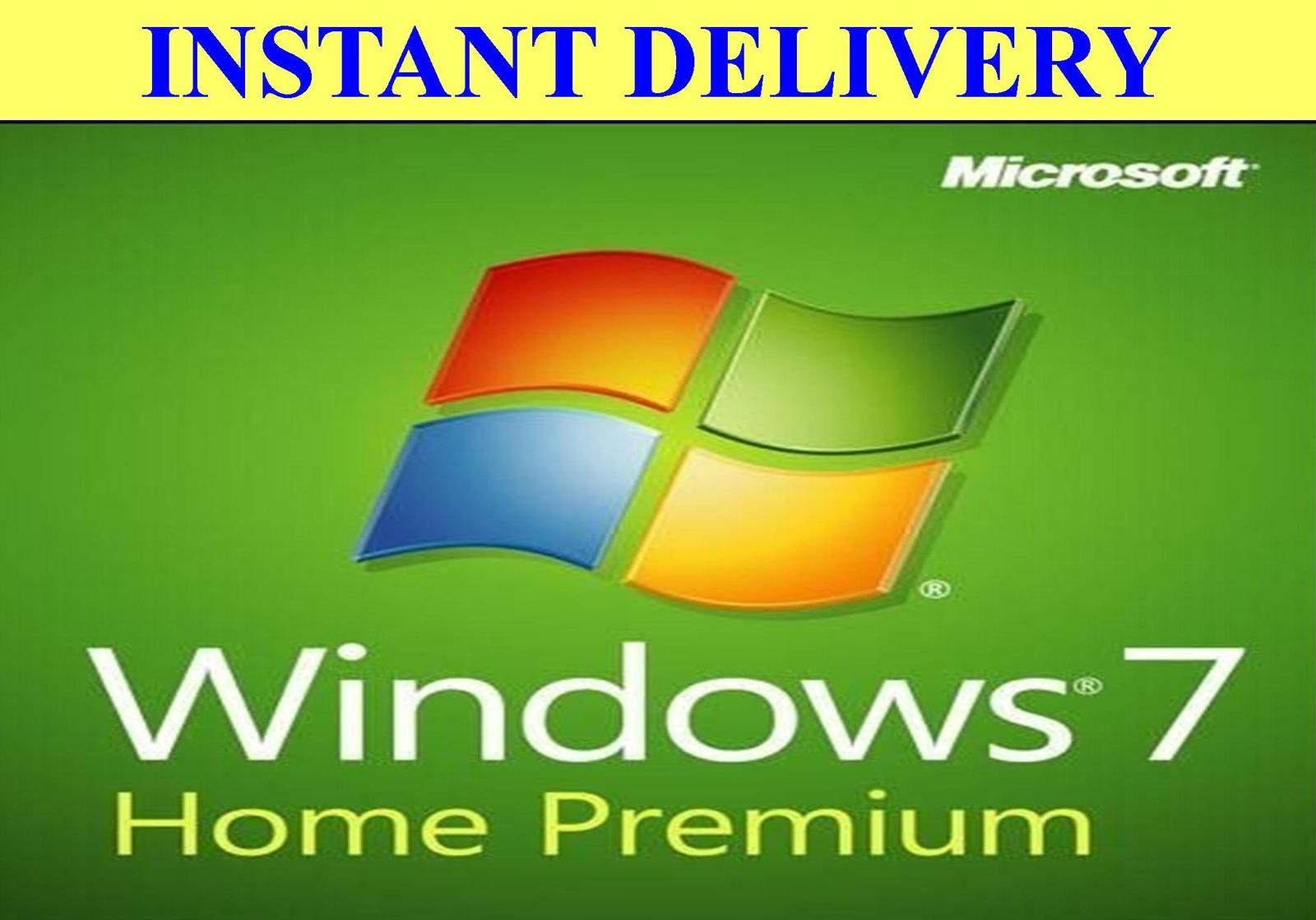 windows 7 home premium 32 bit key