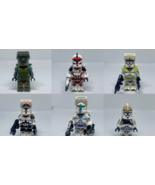 6pcs/set Star Wars Phase 1 Clone Troopers Custom Minifigures Building Toys - $13.99