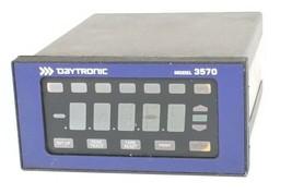 DAYTRONIC MODEL 3570 STRAIN GAGE PANEL METER image 1