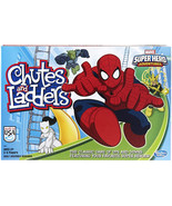 Hasbro Gaming Marvel Spider-Man Web Warriors Chutes and Ladders Game Single - $32.12 CAD