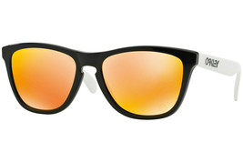 Oakley Frogskins 30yr Heritage Collection Poliert Schwarz mit / Fire Iri... - $215.54