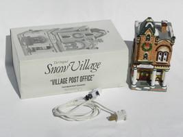 "Dept. 56 Snow Village Christmas ""Village Post Office"" Building, w/Box - $19.99"