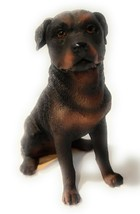 New World of Dogs Collection Large Resin Figurine Rottweiler #4414 - $15.00