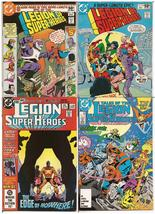 DC Legion Of Super-Heroes Lot Issues #269, 270, 298, & 350 - $9.95