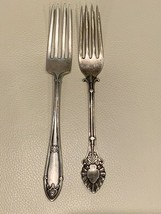 Antique R. Wallace & Sons RM&S and J. Gray Sterling Forks - $49.00