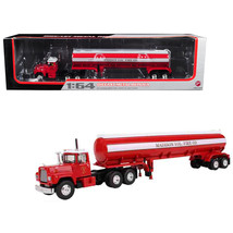 Mack R-Model with 42 Water Tank Trailer Madison Fire Co. 1/64 Diecast Model by F - $98.86