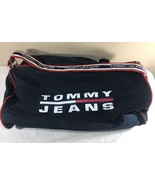 VTG Tommy Hilfiger Duffle Bag 90's Backpack Flag Colorblock Tote Spell Out - $69.99