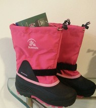 Kamik Boy's Waterbug 5 Insulated Waterproof Boots SC4 PINK S: 5 - $49.50