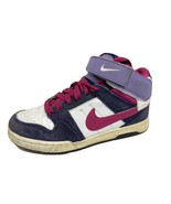 Nike Morgan mid 2 youth girls sneakers hi top multicolor leather size - $23.21