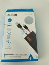 Anker PowerLine+ USB-C to USB 3.0 Cable (6ft) for Samsung S20 S10 S9 Not... - $14.00