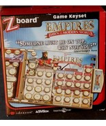 Ideazon / SteelSeries Zboard Empires Dawn Of The Modern World Game Keyse... - $9.89