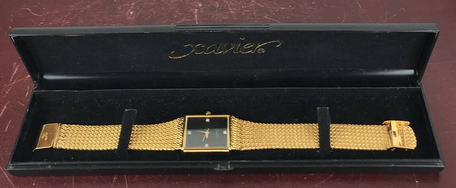 Primary image for Men's Xavier Gold Color Watch With Case