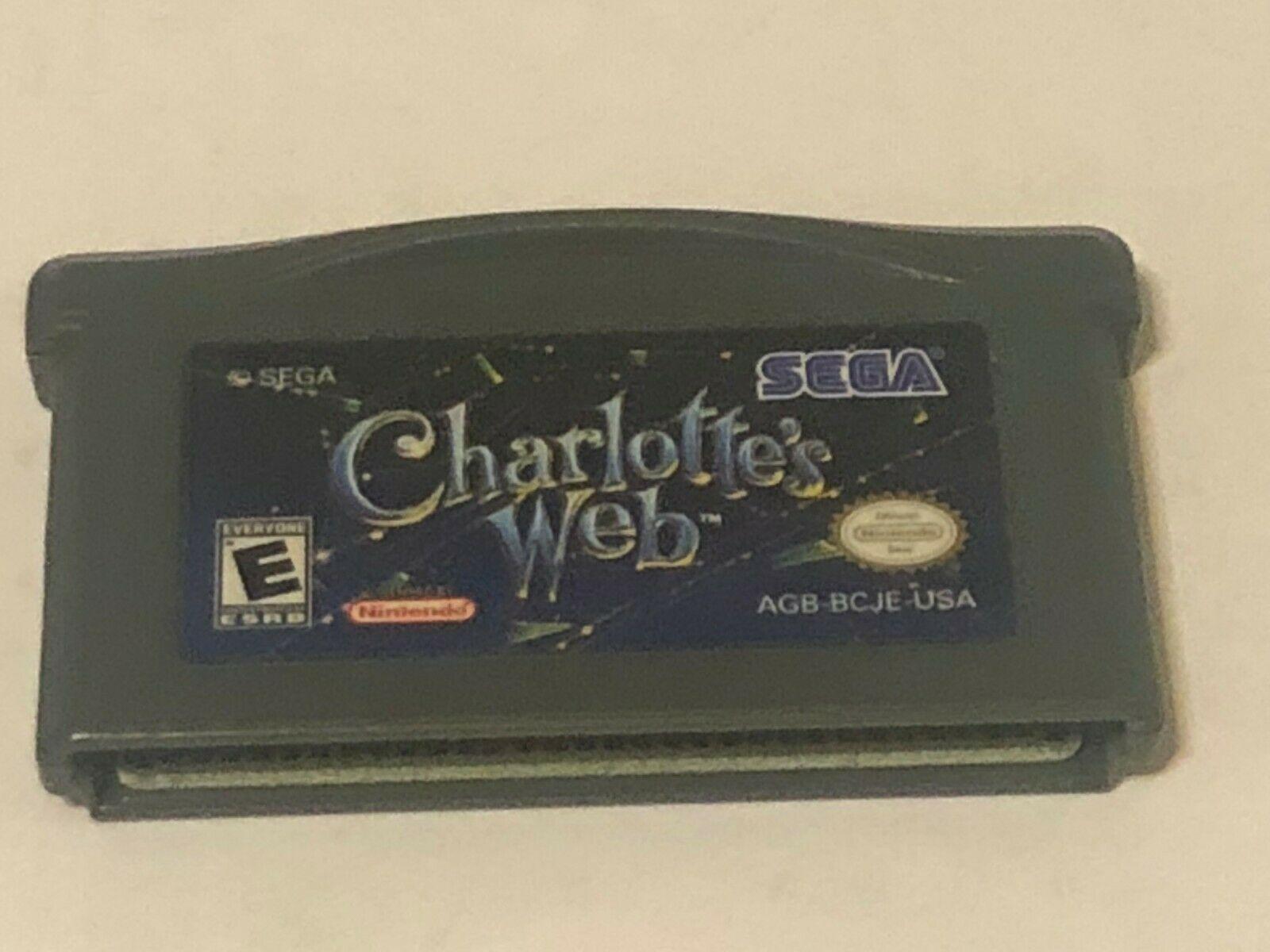 Charlotte's Web Nintendo Game Boy Advance