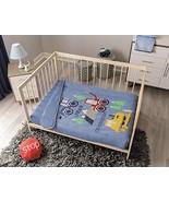 Monster Trucks Baby Boy Crib Nursery Bedding Blue for Baby Shower Constr... - $94.00