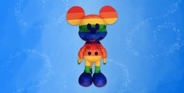 June Limited-Edition Rainbow Disney Mickey Mouse Plush Confimed Order - $69.29