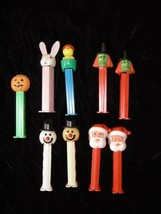 Pez Candy Dispenser Lot Easter Halloween Christmas Pumpkin Bunny Chick W... - $38.99