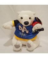 "Coca Cola Kyle Petty 44 Polar Bear  Beanbag Plush Stuffed Animal 5"" 1999 - $11.89"