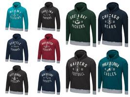 NFL Men's Prestige Pullover Hoodie Hooded Sweatshirt Hoody Authentic Licensed