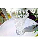 """Royal Crystal Rock Sogno Pattern 6"""" Flower Vase - $11.88"""