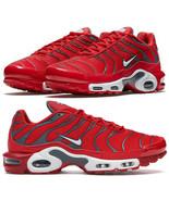 Nike Air Max Plus Tn University Red Pure Platinum Grey Size 8-13 US 8526... - $129.97