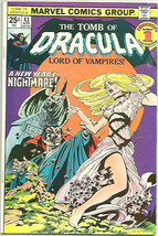 TOMB of DRACULA #43 WRIGHTSON COVER Marvel Bronze 1st Series & Print COL... - $95.00