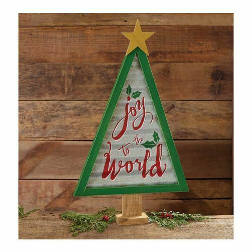 Primary image for Burton & Burton Decor Tree With Joy To The