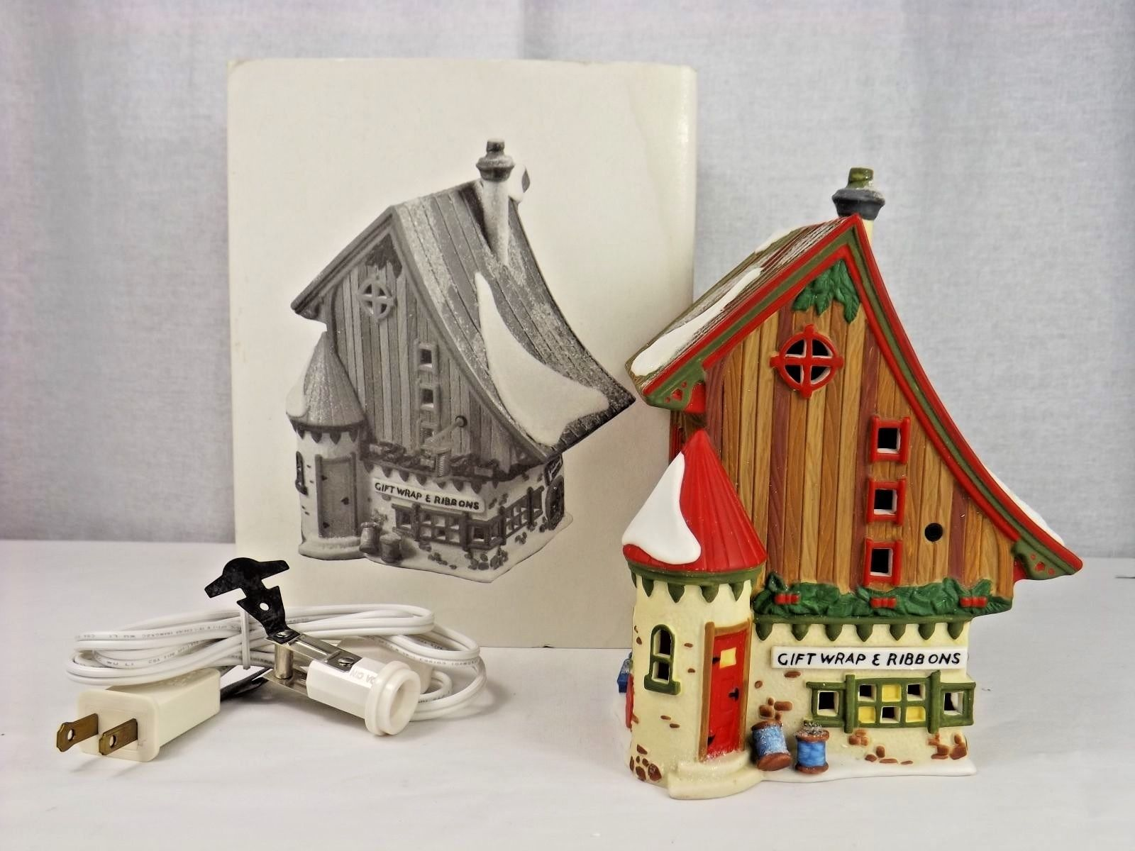 Dept 56 North Pole Series Gift Wrap & Ribbons 56390 - Department 56 - In Box - $15.00
