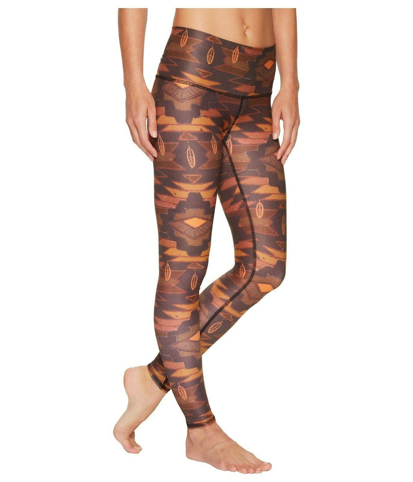 Teeki Donna Leggings Medio Pantalone Southern Cross Pilates Made in USA image 2