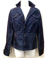 NWOT Tommy Hilfiger Womens CORDUROY NAVY BLUE JACKET Size SMALL PETITE - $41.90