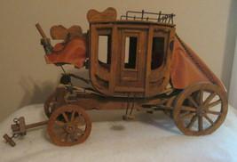 Wells Fargo & Co. Wood Stage Coach Western Cowboy Toy - $98.20