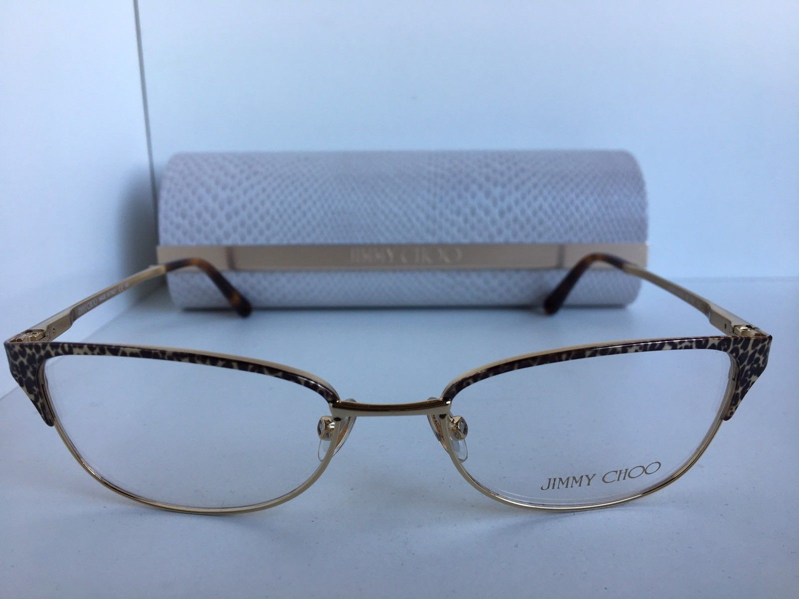 538ceced89 New JIMMY CHOO 92 FIY 51mm Cats Eye Women s and 50 similar items. S l1600