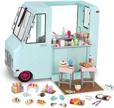 Our generation dolls sweet stop ice cream truck for dolls  18 thumb200