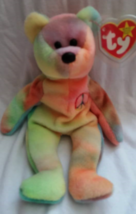 TY Beanie Babies Peace Bear PVC PELLETS Style # RARE ERRORS Retired - $39.99
