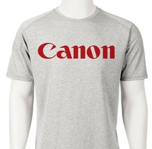 Cannon Dri Fit graphic Tshirt moisture wicking retro camera SPF active wear tee image 2