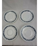 Correlle Blue Onion Saucer Plates 6.25 Inches  - $8.00
