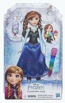 Frozen ANNA Doll Set Disney Crystal Glow NEW In Box 2016 - $13.76