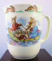 "Royal Doulton Bunnykins ""Row Boat"" Don Handled Beaker - $14.24"
