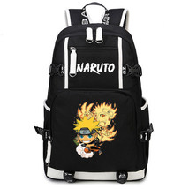 Naruto Theme Fighting Anime Series Backpack Schoolbag Daypack Naruto Nine Lama - $36.99