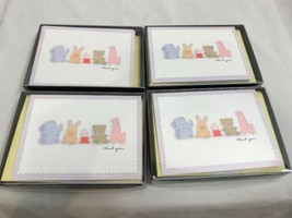 Lot of 39 Hallmark Thank You Cards, Blank Inside, Baby Theme - $9.49