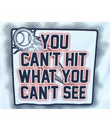 Est 1989 Baseball Boys You Can't Hit What You Can't See XL 14 Short Slee... - $12.86