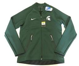 NWT NIKE NCAA Michigan State Spartans Men's Full Zip Up Jacket Adult Siz... - $138.55