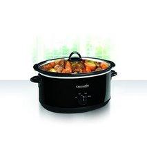 Crock-pot Oval Manual Slow Cooker, Black, 8 quart (SCV800-B) - £37.06 GBP