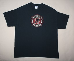 The Just Beer Project XL Black Tshirt Just IPA Short Sleeve Crew Neck - $5.89