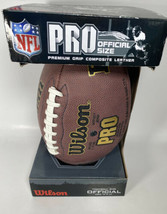 NFL Pro Official Size Football - Trackifield Composite Ball - $30.35