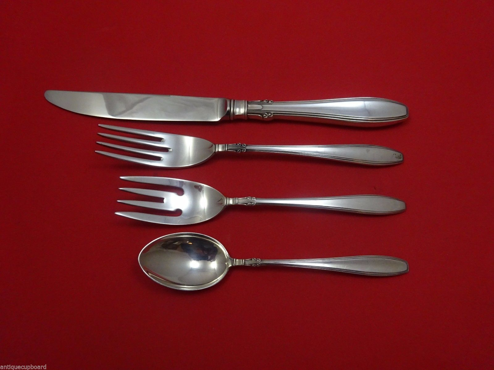 Primary image for Nocturne by Gorham Sterling Silver Regular Size Place Setting(s) 4pc
