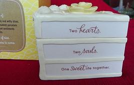 "Hallmark Cake Trinket Box A Little Slice of Nice,WEDDINGt 3 1/2"" High - $4.90"