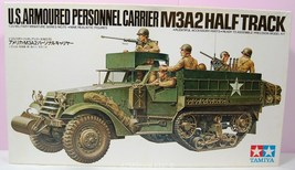 1/35 U.S. Armoured Personnel Carrier M3A2 Half Track Kit No MM170 Serie... - $35.75