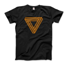 The Penrose Triangle From A Journey Through Time - DARK T-Shirt - $19.75+